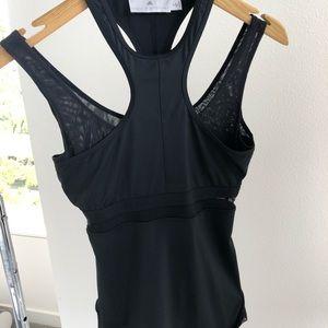 Adidas by Stella McCartney Tops - Stella McCartney for Adidas black mesh tank/ small